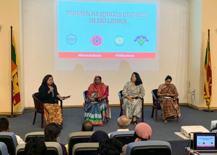 23 Mar 2019 - Panel discussion on 'Women as Quazi judges in Sri Lanka' with Zainah Anwar from Musawah and national level activists. The discussion was moderated by Hyshyama Hamin.